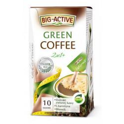 La Karnita - Green Coffee, kawa 2w1, wspomagająca odchudzanie, rozpuszczalny napój kawowy, poj. 10 saszetek x 12 g