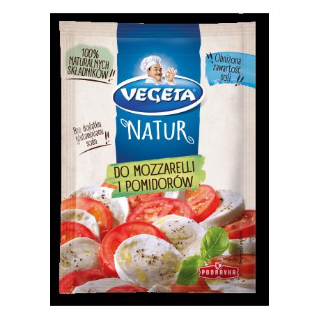 Vegeta - Natur, do mozzarelli i pomidorów, mieszanka przyprawowa, masa netto: 60 g