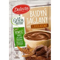 Delecta - Budyń Jaglany, smak czekoladowy, masa netto: 46 g