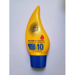 Dax Sun - Balsam do opalania z masłem kakaowym i olejem arganowym SPF10, wysoko wodoodporny, poj. 150 ml