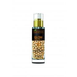 Bielenda GLOW ESSENCE - złota baza pod makijaż – efekt rozświetlenia, poj. 30 g