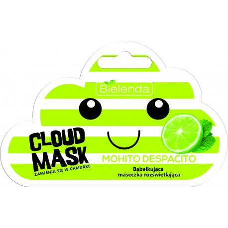 CLOUD MASK - bąbelkująca maseczka rozświetlająca – Mohito Despacito, masa netto: 6 g