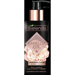 Bielenda CAMELLIA OIL - luksusowy olejek do mycia twarzy, poj. 140 ml