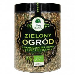 Dary Natury - Zielony Ogród EKO, ekologiczna przyprawa do zup i innych dań, masa netto: 150 g