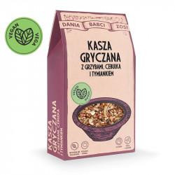 SYS - Dania Babci Zosi, kasza gryczana z grzybami, cebulką i tymiankiem, masa netto: 250 g