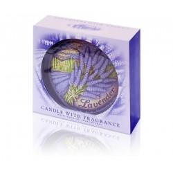 Dysk 130 - świeca zapachowa Lavender