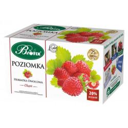 Bi fix Poziomka - herbatka owocowa Classic, poj. 25 saszetek x 2 g