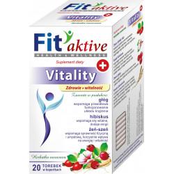 Malwa Fit Aktive - Vitality, Zdrowie i Witalność, herbata owocowa, suplement diety, zawartość: 20 saszetek