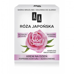 AA Botanical Infusion - Róża Japońska, krem na dzień, moc liftingu, poj. 50 ml