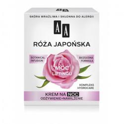 AA Botanical Infusion - Róża Japońska, krem na noc, moc liftingu, poj. 50 ml