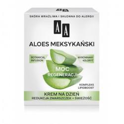 AA Botanical Infusion - Aloes Meksykański, krem na dzień, moc regeneracji, poj. 50 ml