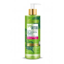 Bielenda VEGE DETOX - normalizujący żel do mycia twarzy – cera mieszana JARMUŻ + BURAK + PREBIOTYK, poj. 200 ml