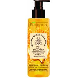 Bielenda MANUKA HONEY NUTRI ELIXIR - kojąco – nawilżający żel micelarny do mycia twarzy, poj. 200 ml