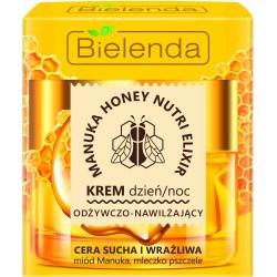 Bielenda MANUKA HONEY NUTRI ELIXIR - odżywczo – nawilżający krem dzień/ noc, poj. 50 ml