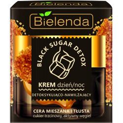 Bielenda BLACK SUGAR DETOX - detoksykująco – nawilżający krem dzień/ noc, poj. 50 ml