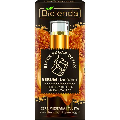 Bielenda BLACK SUGAR DETOX - detoksykująco – nawilżające serum dzień/ noc, poj. 30 g