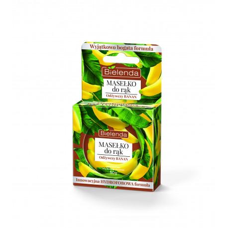 Bielenda Owocowe Masełko do rąk - Odżywczy Banan, poj. 50 g