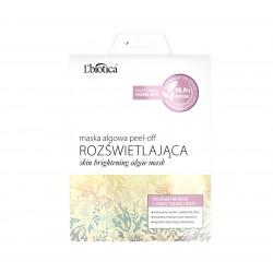L'biotica Rozświetlająca - maska algowa peel-off, kolagen morski + owoc dzikiej róży, poj. 12 g