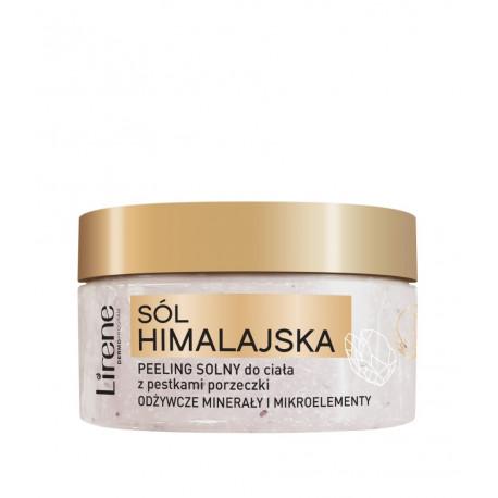 Lirene Sól Himalajska - Peeling solny do ciała z pestkami porzeczki, poj. 200 g