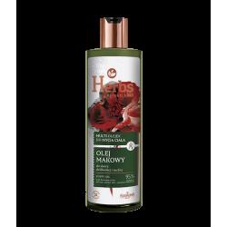 Farmona Herbs - olej makowy, multi olejek do mycia ciała do skóry delikatnej i suchej, poj. 400 ml
