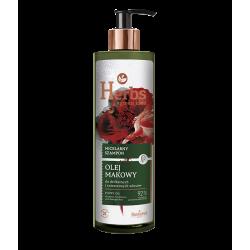 Farmona Herbs - olej makowy, micelarny szampon do delikatnych i zniszczonych włosów, poj. 400 ml