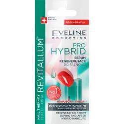 Eveline Nail Therapy Professional Revitalum - Intensywnie regenerujące serum do paznokci, Pro Hybrid, poj. 12 ml