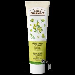 Green Pharmacy Oliwkowy - krem do rąk i paznokci, odżywczy, ochronny, poj. 100 ml
