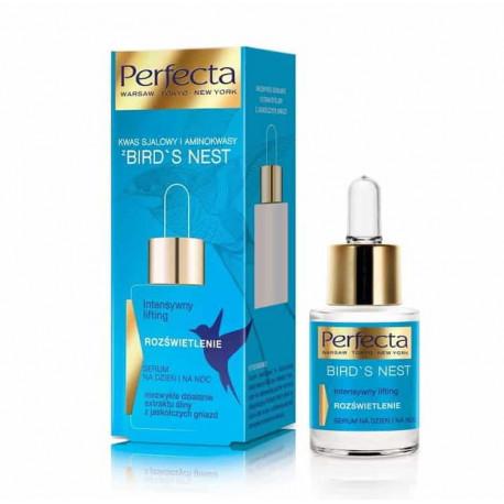Perfecta Bird's Nest - intensywny lifting, rozświetlenie, serum na dzień i na noc, poj. 15 ml