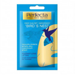 Perfecta Bird's Nest - azjatycka maska na tkaninie, rozświetlenie, lifting, 1 szt.