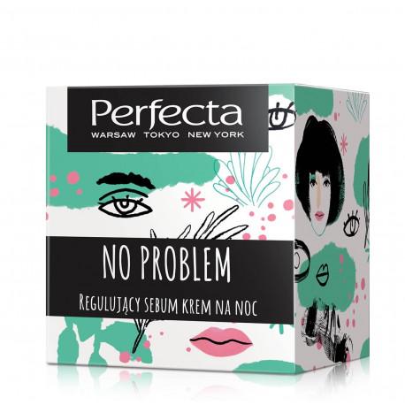 Perfecta No Problem - regulujący sebum krem na noc, poj. 50 ml