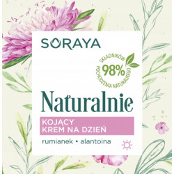 Soraya Naturalnie - kojący krem na dzień, poj. 50 ml