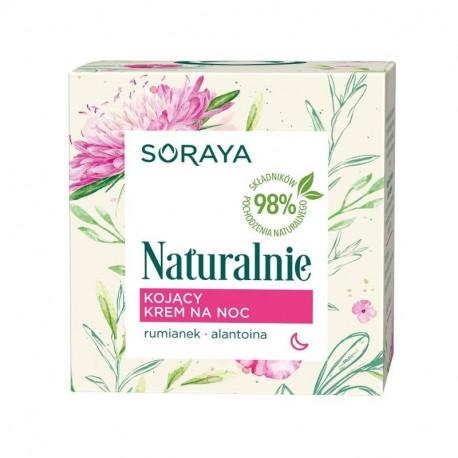 Soraya Naturalnie - kojący krem na noc, poj. 50 ml