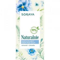 Soraya Naturalnie - nawilżający krem pod oczy, poj. 15 ml