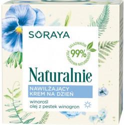 Soraya Naturalnie - nawilżający krem na dzień, poj. 50 ml