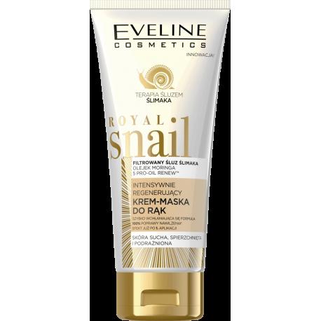 Eveline Royal Snail - intensywnie regenerujący krem-maska do rąk, poj. 100 ml