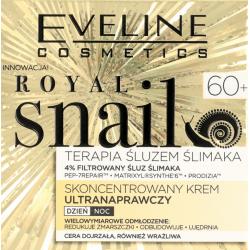 Eveline Royal Snail - skoncentrowany krem ultranaprawczy na dzień i na noc, 60+, cera dojrzała, poj. 50 ml