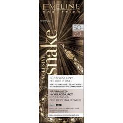 Eveline Exclusive Snake - napinająco-wygładzający krem-maska pod oczy i na powieki na dzień i na noc, poj. 20 ml