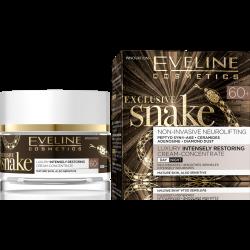 Eveline Exclusive Snake - silnie regenerujący krem multifunkcjonalny na dzień i na noc, 60+, poj. 50 ml