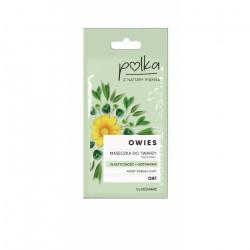 POLKA Owies - Maseczka do twarzy elastyczność+odżywienie, poj. 8 ml
