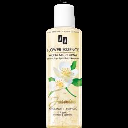 AA Flower Essence - JASMINE, nawilżanie i jędrność, woda micelarna z naturalnymi płatkami kwiatów, poj. 200 ml