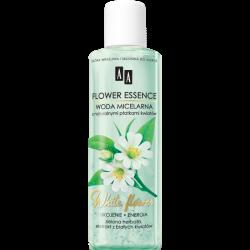 AA Flower Essence - WHITE FLOWERS, ukojenie i energia, woda micelarna z naturalnymi płatkami kwiatów, poj. 200 ml