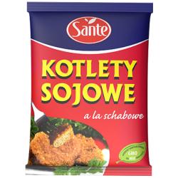 Sante - kotlety sojowe à la schabowe, masa netto: 100 g