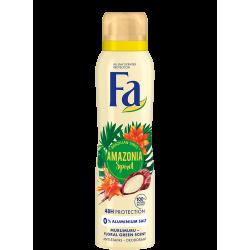 FA BRAZILIAN VIBES - Amazonia Spirit, dezodorant do ciała w aerozolu o świeżym, kwiatowym zapachu, poj. 150 ml