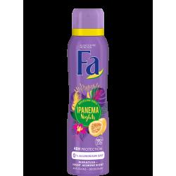 FA BRAZILIAN VIBES - Ipanema Nights, dezodorant do ciała w aerozolu o zapachu kwitnącego nocą jaśminu, poj. 150 ml
