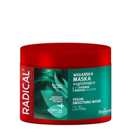 RADICAL - maska wygładzająca z wegańską keratyną, poj. 300 ml