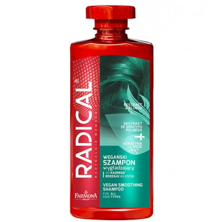 Radical - szampon wygładzający z wegańską keratyną, poj. 400 ml