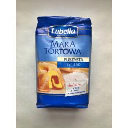 Lubella - Mąka pszenna, puszysta, tortowa, typ: 450, masa netto: 1 kg