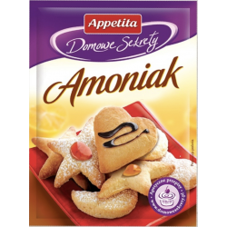Appetita Domowe Sekrety - Amoniak, masa netto: 30 g