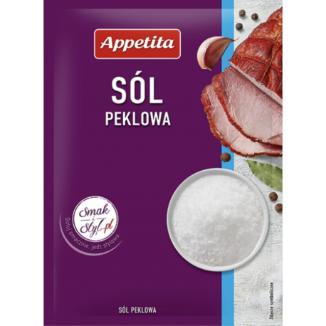 Appetita - sól peklowa, masa netto: 50 g