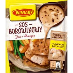 Winiary - sos borowikowy JAK U MAMY, masa netto: 33 g